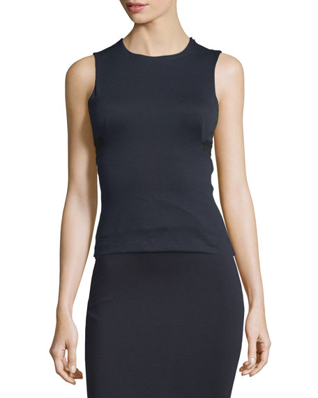 T by Alexander Wang High Lux Ponte Cutout