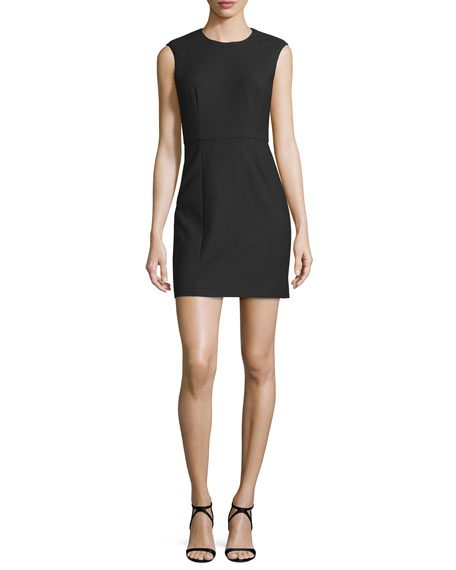 Elizabeth and James McKay Sleeveless Open-Back Mini Dress,