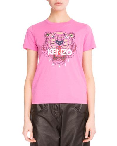 Light Single Jersey Tiger T-Shirt, Bagota