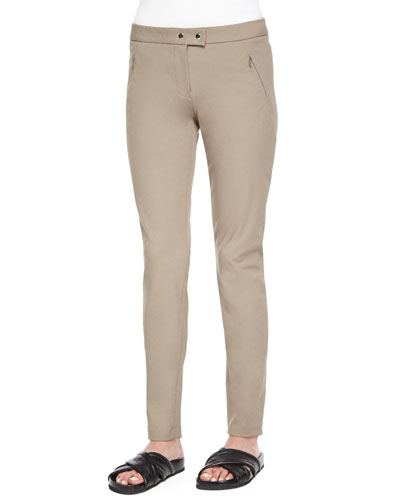 Adalwen Jetty Slim Zip-Pocket Pants