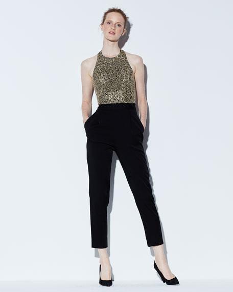 Jeri Embellished T-Back Jumpsuit