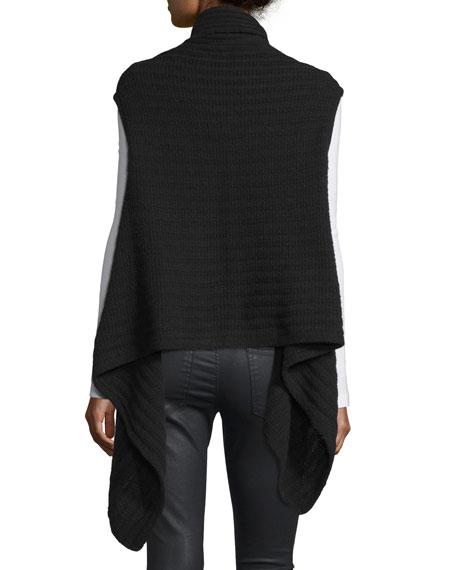 Ena B Ribbed-Knit Vest