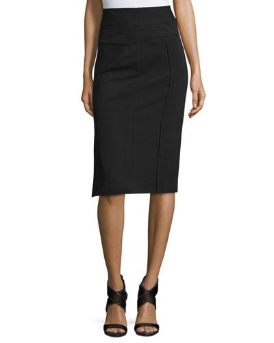 Kayte High-Waist Pencil Skirt