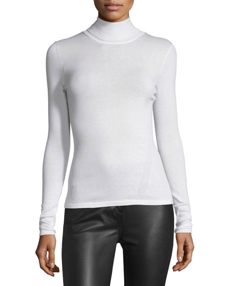 Diane von Furstenberg Jelena Turtleneck Sweater, Ivory