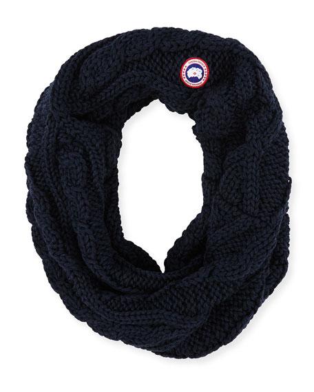 Chunky Knit Merino Infinity Scarf