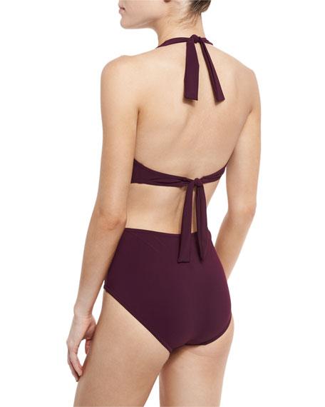 Basics Halter Monokini Swimsuit