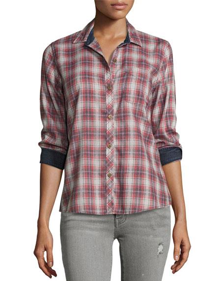 The Slim Boy Shirt, Railroad Plaid