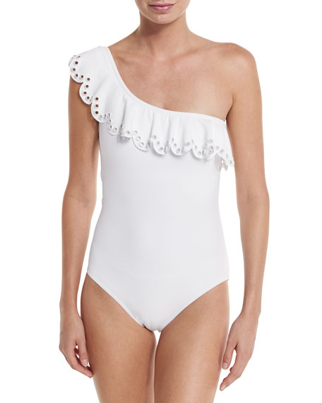 Temptation One-Shoulder Swimsuit