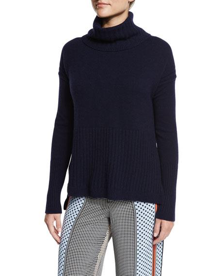 Derek Lam 10 Crosby Cashmere Turtleneck Pullover Sweater,