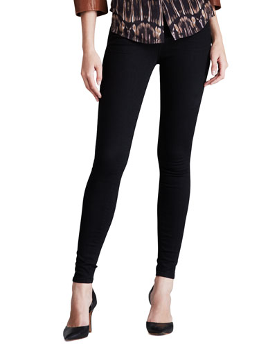 Maria Photo Ready Thunderhead High-Rise Skinny Jeans