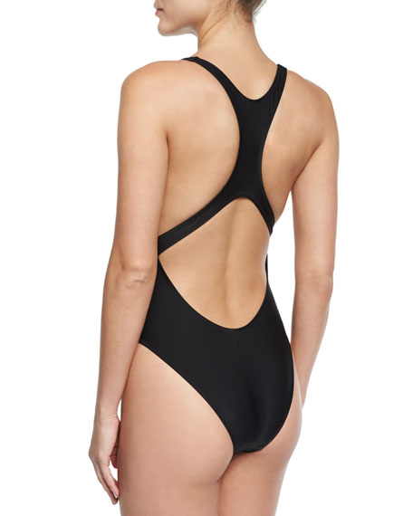 435abd2505 Milly Resting Beach Face One-Piece Swimsuit
