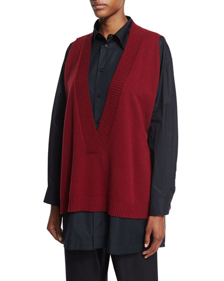 A-Line Knit Vest
