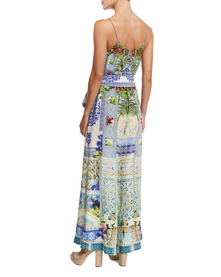 cabe6b13fc29 Camilla Belted Wide-Leg Jumpsuit