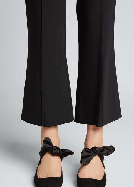 Beca Seamed Pants, Black