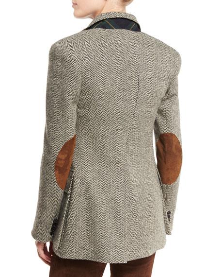 The Tweed Jacket, Black/White