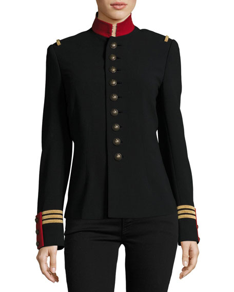 3a718fcad52b Ralph Lauren Collection The Officer s Jacket, Black