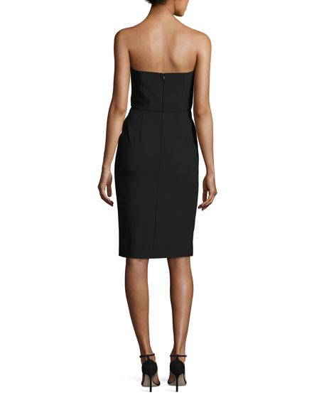 75db7fcb57ad4 Alexis Peyton Strapless Pompom-Trim Cocktail Dress, Black