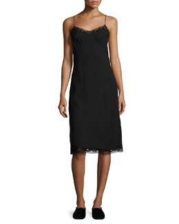 Santi Lace-Trim Cami Dress