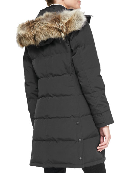 Shelburne Parka with Fur Hood