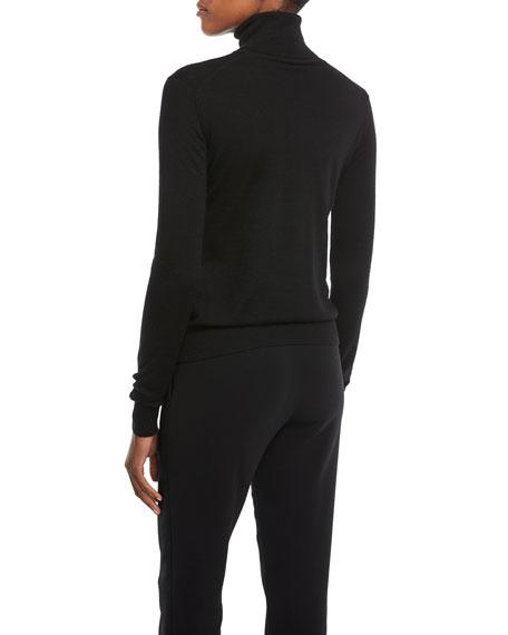 Long-Sleeve Cashmere Turtleneck Sweater