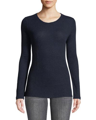 Cashmere-Merino Crewneck Sweater