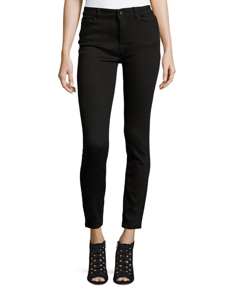 Farrow Instaslim High Rise Skinny Ankle Jeans, Hail by Dl1961 Premium Denim
