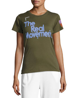 The Real Movement Short-Sleeve T-Shirt, Green