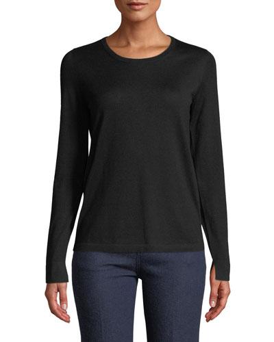 Piuma Crewneck Cashmere Sweater