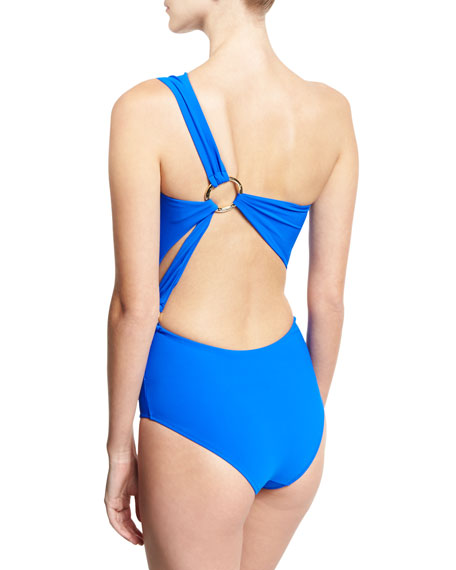 Teti One-Shoulder Cutout Swimsuit