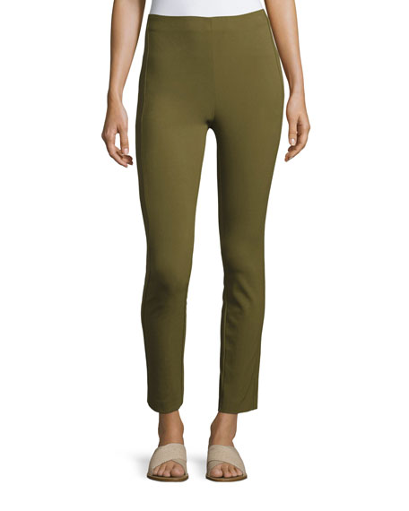Rag & Bone Simone High-Waist Leggings, Olive