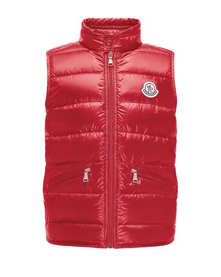 Gui Down Puffer Vest, Size 8-14