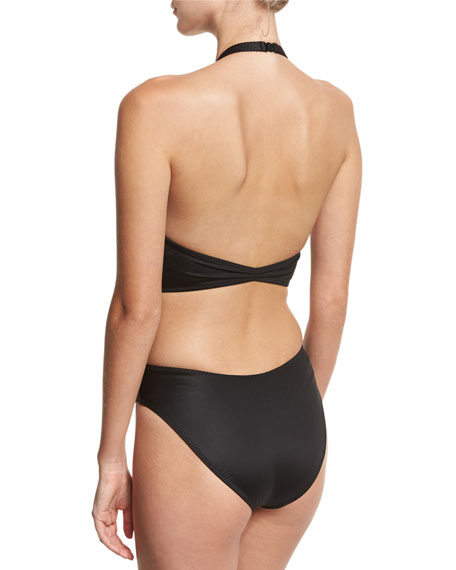 Sister Chuck Cutout-Back One-Piece Swimsuit, Black