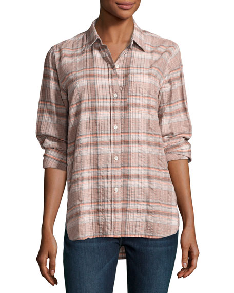 Current/Elliott The Modern Prep School Shirt, Eugene Plaid