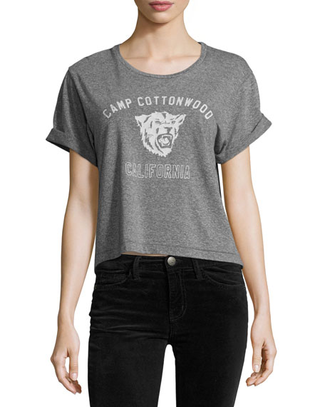 The Camp Cottonwood Sailor Tee, Heather Gray