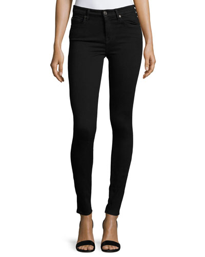 High-Waist Skinny Jeans  Slim Illusion Luxe Black
