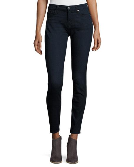 7 For All Mankind Jeans B(AIR) DENIM HIGH-WAIST SKINNY JEANS