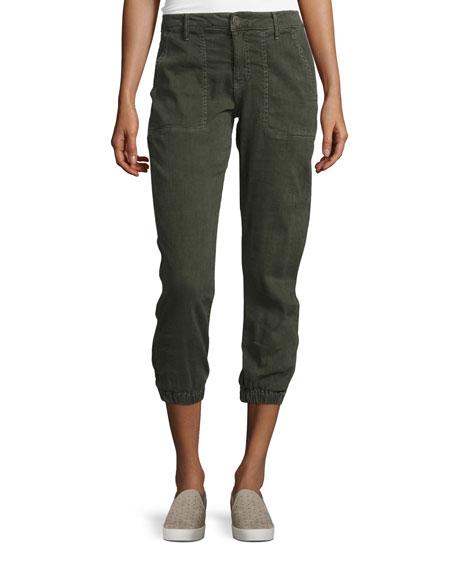 Joie Dolorita Cropped Cargo Pants, Green