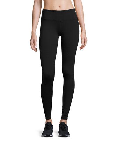 Airbrush Sport Leggings, Black
