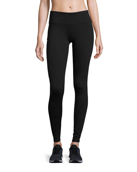 Airbrush Sport Leggings, Black
