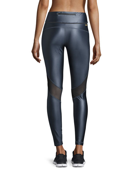 Captain Ankle Tight Leggings, Liquid Indigo