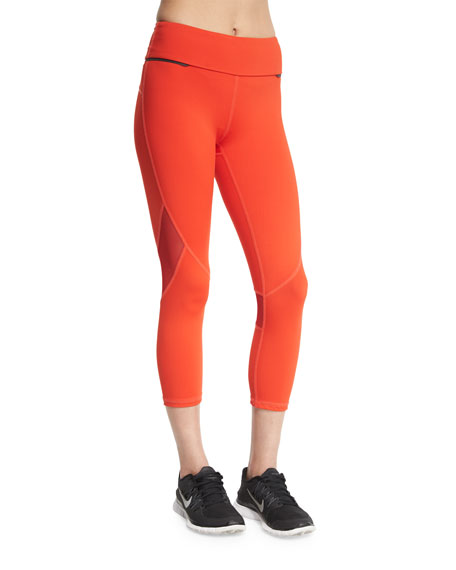 Alala Captain Crop Capri Running Tights/Leggings