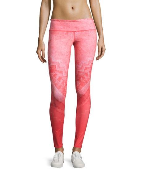 Airbrush Printed Sport Leggings