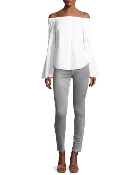 815 Luxe Velveteen Skinny Pants