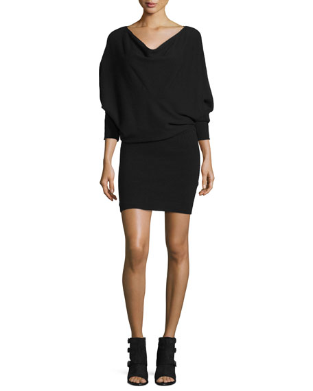 Joie Athel B Long-Sleeve Sweater Dress