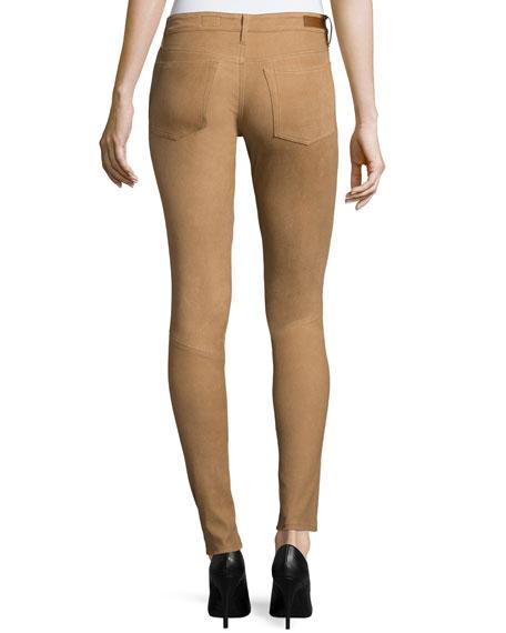 The Suede Full-Length Legging