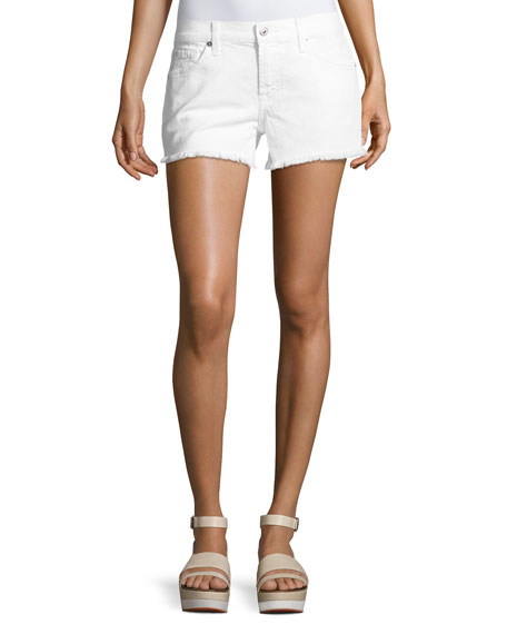 7 For All Mankind Cutoff Jean Shorts, Clean