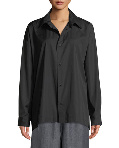 Slim Shirt with Collar