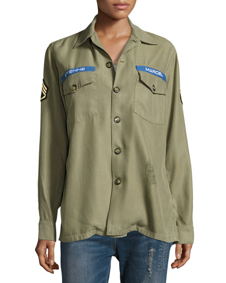 Logo Military Army Jacket