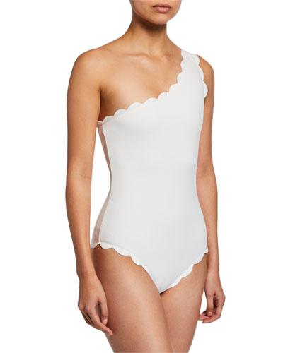 Santa Barbara One-Shoulder Maillot Swimsuit