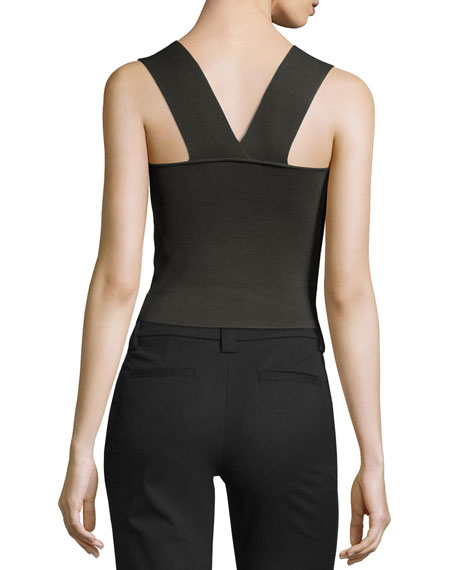 Lucy Ponte Racerback Tank, Moss